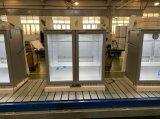 Double Glass Door Back Bar Display Cooler