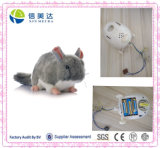 Grey Mouse Plush Moving Electronic Mouse Toy