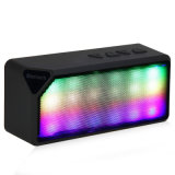 Handsfree Wireless Dazzle Color LED Light Pulsing Speaker Support TF