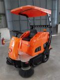 China Wholesale Industrial Cleaning Machine Electric Ride on Road Sweeper