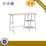 Cheap Wooden Furniture Office School Metal Steel Table Desk with Shelf