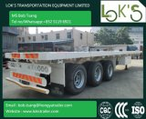 40 Feet Tri Axle Flatbed Cargo Semi - Trailer