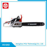 Professional Manufacture Supply Gas Chainsaw with Electric Start