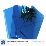 4-12mm Blue /Dark Blue Reflective Glass Building Glass