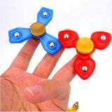 Steel Balls Plastic Kids Fidget Hand Finger Spinner Toy