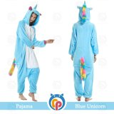 Wholesale Animal Flannel Adult Unicorn Pajamas