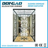 Passenger Goods Freight Panoramic Home Elevator with High Security