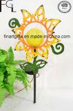 Garden Iron Flower Arts Solar Lighting Garden Light Outdoor Lamp