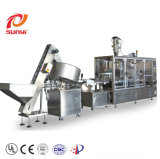 Shanghai New Style Small Chocolate Beans/ Coffee Beans/ Popcorn Triangle Bags Filling Sealing Packing Machine