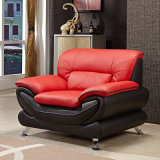 Simple Modern Small Apartment Leather Sofa Living Room First Layer Cowhide Three-Family Furniture Hotelhb01-92