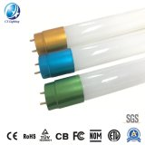 Double Driver 40W LED T8 Tube 4000lm 100lm/W 85-265V Milky Glass with Ce RoHS Warranty 3 Years