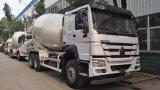 HOWO Natural LNG Gas 10-12 Cbm Mixer Cement Truck/Corcent Mixer Truck for Sale