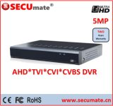8 Channel 5MP H. 265 Professional CCTV Digital Video Recorder DVR