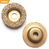 50mmx10mm Tungsten Carbide Grinding Wheel with Grit 23#