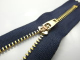 China Metal Zipper for Y Teeth Type (3# brass)
