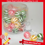 Color Stripe Ball Sweet Lollipop