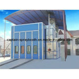 Industrial Auto Coating Equipment, Long Bus Spray Booth