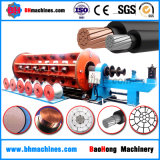 ACSS/TW ACCC/TW Trapezoidal Shaped Copper Wire Drawing Annealing Stranding Machine