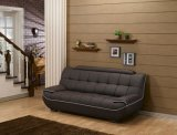 New Modern Living Room Furniture Hotel Bedroom Leather Sofa (2seater)