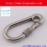 Excellent Quality Carabiner Keychain Waist Belt Clip Stainless Steel Buckle