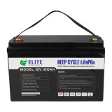 Elite Rechargeable Lithium Ion UPS LiFePO4 12.8V 100ah Li-ion Battery with Long Cycle Span