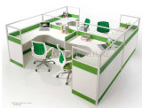 Modern Office Furniture 4 Person Office Cubicle Workstation (SZ-WS243)