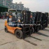 Used Toyota Fd30 3ton Forklift Diesel Three Mast Reach to 4.5meters High