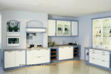 China Manufacturer New Modern Simple Wooden Kitchen Cabinets