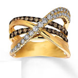 Fashion Color Gold Plated 925 Silve Jewelry Silver Rings