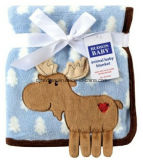 Wholeasle Competitive Quality & Price Coral Fleece Baby Blanket