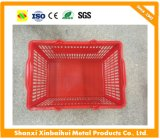 Supermarket New Plastic Shopping Hand Basket