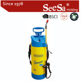 Shixia Seesa Plastic Wholesale 8L 5L Garden Tool Agriculture Hand Pressure Air Compression Pressure Gauge Pump Sprayer