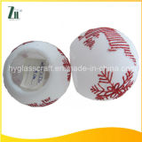 Wholesale White Snowflake Christmas Candleholder
