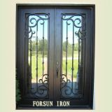 Quality Extry Door with Hand-Forged