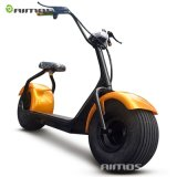 EEC Harley City Coco Fashion Electric Harley Scooter with Fat Wheels for Adult Double Seats 1000W