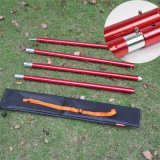 One Section 400mm/19mm Diameter/ Fram Lightweight Folding Curved /Aluminum Tent Pole with Rubber Band