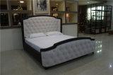 Bedroom Upholstered Modern Fabric King Bed for Homefurniture
