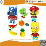 Toddler Plastic Educational Toy Bricks