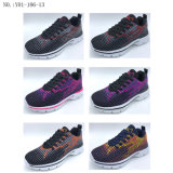 Hot Sale Breathable Women Sports Shoes Casual Sneaker Shoes (Y01-186-13)