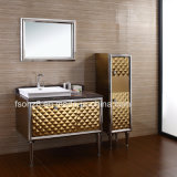 Stainless Steel Bathroom Vanity Side Cabinet with Legs