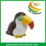 Bird Shaped Custom Logo Soft PU Stress Ball for Toys