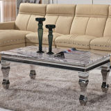 Wholesale Morden Metal Coffee Table with Marble Top
