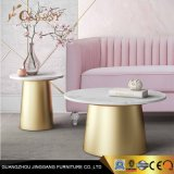 Marble Table Top Metal Small Side Table End Table
