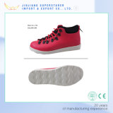 Red Color High Top Shoes, Men Casual Shoes Keep Warm