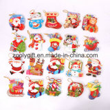 DIY Printed Christmas Invitation 3D Glitter Paper Greeting Cards