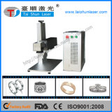 30W Carbid Tools Metal Laser Marking Machine with Competitive Price