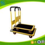 Storage Foldable Plastic Mute Platform Pushcart