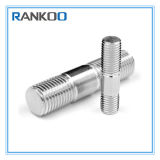 Custom Precision Stainless Steel Double End Thread Stud Bolt with Stainless Steel 304 316 Material and Titanium for Machinery