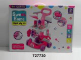 Hot Sale Popular Toy Girl′s Sweet Home Play DIY Toy Set (727731)