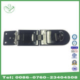 High Quality Single Hinge Hasp with Gloss Black Painting (HS221)